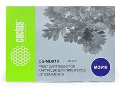 Матричные картриджи Cactus CS-MD910 черный для Citizen MD-910 - фото 6910