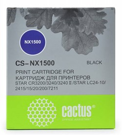 Матричные картриджи Cactus CS-NX1500 черный для Star NX-1500/24xx/LC-8211 - фото 6912