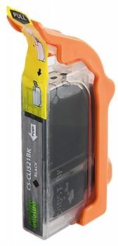 Струйный картридж Cactus CS-CLI521BK (CLI-521Bk) фото черный для Canon Pixma iP3600, iP4600, iP4600x, iP4700, MP540, MP540x, MP550, MP560, MP620, MP620b, MP630, MP640, MP660, MP980, MP990, MX860, MX870 (8,4 мл) - фото 7123