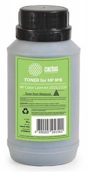Тонер для принтера Cactus CS-THP8BK-90 черный (флакон 90гр) HP  Color LaserJet 2025, 2320 - фото 8180