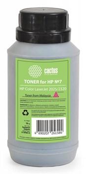 Тонер для принтера Cactus CS-THP8M-70 пурпурный (флакон 70гр) HP  Color LaserJet 2025, 2320 - фото 8182