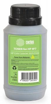Тонер для принтера Cactus CS-THP8Y-70 желтый (флакон 70гр) HP  Color LaserJet 2025, 2320 - фото 8183