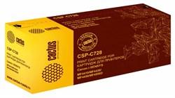 Лазерный картридж Cactus CSP-C728 (№728) черный для принтеров Canon Fax L150, LaserBase MF4410 i-Sensys, MF4450 i-Sensys, MF4570 i-Sensys, MF4730 i-Sensys, MF4780 i-Sensys, MF4870 i-Sensys, MF4890 i-Sensys (3000 стр.) - фото 8261