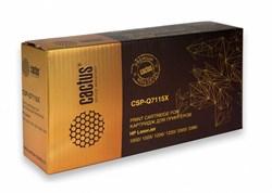 Лазерный картридж Cactus CSP-C7115X (HP 15X) черный для принтеров HP LaserJet 1200, 1200N, 1200SE, 1220, 1220SE, 3300, 3300MFP, 3310, 3320, 3320MFP, 3320N, 3320N MFP, 3330, 3330MFP, 3380, 3380MFP (5000 стр.) - фото 8272