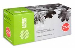 Лазерный картридж Cactus CS-C726S (№726) черный для принтеров Canon LBP 6200 i-Sensys, 6200d i-Sensys (2100 стр.) - фото 8490
