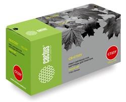 Лазерный картридж Cactus CS-C723Y (№723Y) желтый для принтеров Canon LBP 7750 i-Sensys, 7750cd i-Sensys, 7750Cdn i-Sensys (8500 стр.) - фото 8506