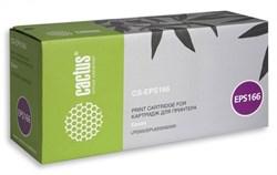 Лазерный картридж Cactus CS-EPS166 (C13S050166) черный для принтеров LP-1400, LP-2500, EPL-6200, EPL-6200L, EPL-6200N (6000 стр.) - фото 8511