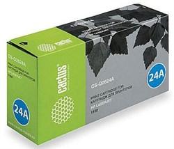 Лазерный картридж Cactus CS-Q2624A (HP 24A) черный для принтеров HP LaserJet 1150 (2500 стр.) - фото 8528