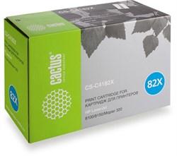 Лазерный картридж Cactus CS-C4182X (HP 82X) черный для принтеров LaserJet 8100, 8100DN, 8100MFP, 8100N, 8150, 8150DN, 8150HN, 8150MFP, 8150N, Mopier 320 (20000 стр.) - фото 8608