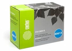 Лазерный картридж Cactus CS-C8061X (HP 61X) черный для принтеров HP LaserJet 4100, 4100DTN, 4100MFP, 4100N, 4100TN, 4101, 4101 MFP (10000 стр.) - фото 8620