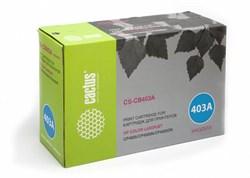 Лазерный картридж Cactus CS-CB403A (HP 642A) пурпурный для принтеров HP Color LaserJet CP4005, CP4005DN, CP4005N (7500 стр.) - фото 8694