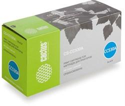 Лазерный картридж Cactus CS-CC530A (HP 304A) черный для принтеров HP  Color LaserJet CM2320 mfp, CM2320fxi (CC435A), CM2320n, CM2320nf (CC436A), CP2020 series, CP2025 (CB493A), CP2025dn (CB495A), CP2025n (CB494A), CP2025x (3500 стр.) - фото 8723