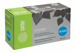 Лазерный картридж Cactus CS-CE250X (HP 504X) черный для принтеров HP Color LaserJet CM3530, CM3530fs MFP, CP3520, CP3525, CP3525dn, CP3525n, CP3525x (10500 стр.) - фото 8743