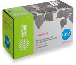 Лазерный картридж Cactus CS-CE253A (HP 504A) пурпурный для принтеров HP  Color LaserJet CM3530, CM3530fs MFP, CP3520, CP3525, CP3525dn, CP3525n, CP3525x (7000 стр.) - фото 8755