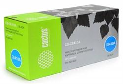 Лазерный картридж Cactus CS-CE410A (HP 305A) черный для принтеров HP  Color LaserJet M351a Pro, M375nw MFP Pro, M451dn Pro, M451dw Pro, M451nw Pro, M475dn MFP Pro, M475dw MFP Pro, M551N Ent, M570DN, M570DW (2200 стр.) - фото 8819
