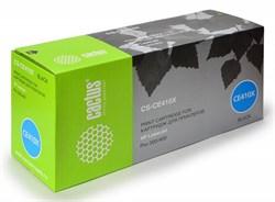 Лазерный картридж Cactus CS-CE410X (HP 305X) черный для принтеров HP  Color LaserJet M351A PRO, M375NW MFP PRO, M451DN PRO, M451DW PRO, M451NW PRO, M475DN MFP PRO, M475DW MFP PRO (4000 СТР.) - фото 8820