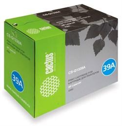 Лазерный картридж Cactus CS-Q1339A (HP 39A) черный для принтеров HP LaserJet 4300, 4300DTN, 4300DTNS, 4300DTNSL, 4300N, 4300TN (18000 стр.) - фото 8852