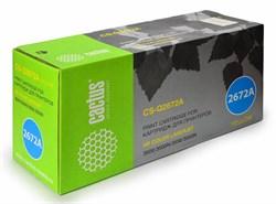 Лазерный картридж Cactus CS-Q2672A (HP 309A) желтый для принтеров HP Color LaserJet 3500, 3500N, 3550, 3550N, 3700, 3700D, 3700DN, 3700DTN, 3700N (4000 стр.) - фото 8870