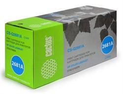 Лазерный картридж Cactus CS-Q2681A (HP 311A) голубой для принтеров HP Color LaserJet 3700, 3700D, 3700DN, 3700DTN, 3700N (6000 стр.) - фото 8875