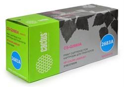 Лазерный картридж Cactus CS-Q2683A (HP 311A) пурпурный для принтеров HP  Color LaserJet 3700, 3700D, 3700DN, 3700DTN, 3700N (6000 стр.) - фото 8877