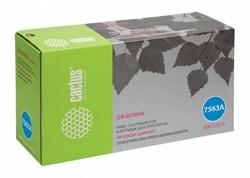 Лазерный картридж Cactus CS-Q7563A (HP 314A) пурпурный для принтеров HP  Color LaserJet 2700, 2700N, 3000, 3000DN, 3000DTN, 3000N (3500 стр.) - фото 9007