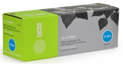 Лазерный картридж Cactus CS-CF380X (HP 312X) черный для принтеров HP Color LaserJet M476 (Pro MFP series), M476dn (CF386A), M476dw (CF387A), M476nw (CF385A) (4400 стр.) - фото 9045
