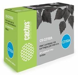 Лазерный картридж Cactus CS-CZ192A (HP 93A) черный для принтеров HP LaserJet M435 Pro, M435nw Pro (A3E42A), M701 Pro, M701a Pro (B6S00A), M701n Pro (B6S01A), M706 Pro, M706n Pro (B6S02A) (12000 стр.) - фото 9049