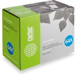 Лазерный картридж Cactus CS-CC364XS(HP 64X) черный увеличенной емкости для HP LaserJet P4010, P4015, P4015dn, P4015n, P4015tn, P4015x, P4510, P4515, P4515n, P4515tn, P4515x, P4515xm (24'000 стр.) - фото 9111