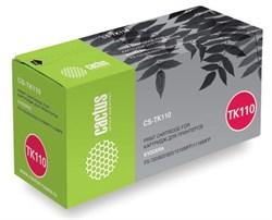 Лазерный картридж Cactus CS-TK110 (Mita TK-110) черный для принтеров Kyocera Mita FS 720, 820, 820N, 920, 920N, 1016 MFP, 1116 MFP, Utax CD1316 (6000 стр.) - фото 9134