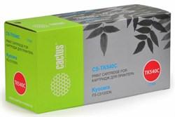 Лазерный картридж Cactus CS-TK540С (TK-540C) голубой для принтеров Kyocera Mita FS C5100, C5100dn (4'000 стр.) - фото 9209