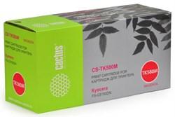 Лазерный картридж Cactus CS-TK580M (TK-580M) пурпурный для принтеров Kyocera Mita P6021 Ecosys, P6021cdn Ecosys, Mita FS C5150, C5150dn (2'800 стр.) - фото 9219