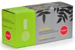 Лазерный картридж Cactus CS-TK590Y (TK-590Y) желтый для принтеров Kyocera Mita Ecosys M6026, M6026cdn, M6026cidn, M6526, M6526cdn, M6526cidn, P6026cdn, FS C2026, FS C2126, FS C2526 MFP, FS C2626 MFP, FS C5250 (5'000 стр.) - фото 9222