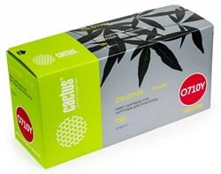 Лазерный картридж Cactus CS-O710Y (44318605) желтый для принтеров OKI C710, С711 (11500 стр.) - фото 9246