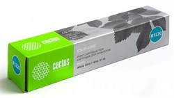 Лазерный картридж Cactus CS-R1220D (Type 1220D) черный для принтеров Ricoh Aficio 1015, 1018, 1018D, 1113, Gestetner Docustation 1312, 1502, 1802, 1802D, Infotec - 4151MF, 4181MF, 4182MF, IS2113, Lanier 5515, 5518, 5618, LD013, MB - 8115, 8118, 8118B, 911 - фото 9253