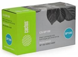Лазерный картридж Cactus CS-SP100 (SP 101E) черный для принтеров Ricoh Aficio SP 100, SP 100E, SP 100SF, SP 100SU, SP 100SF e (2000 стр.) - фото 9262