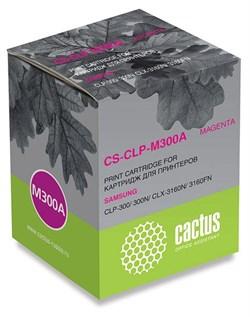 Лазерный картридж Cactus CS-CLP-M300A (CLP-M300A) пурпурный для принтеров Samsung CLP 300, 300N, CLX 2160, 2160N, 3130, 3130N, 3160, 3160FN, 3160N (1000 стр.) - фото 9270