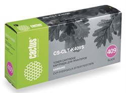 Лазерный картридж Cactus CS-CLT-K409S (CLT-K409S) черный для принтеров Samsung CLP 310, 310N, 315, 315N, 315W, CLX 3170, 3170N, 3170FN, 3175, 3175FN (1500 стр.) - фото 9280