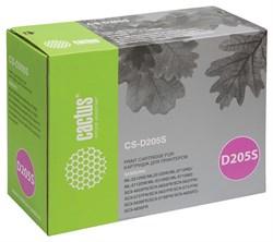 Лазерный картридж Cactus CS-D205S (MLT-D205S) черный для принтеров Samsung ML 3310, 3310D, 3310ND, 3710, 3710D, 3710ND, SCX 4833, 4833FD, 4833FR, 5637, 5637FR (2000 стр.) - фото 9296