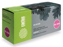 Лазерный картридж Cactus CS-S1640 (MLT-D108S) черный для принтеров Samsung ML 1640, 1641, 2240, 2241 (1500 стр.) - фото 9329