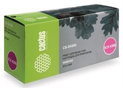 Лазерный картридж Cactus CS-S4300 (MLT-D109S) черный для принтеров Samsung SCX 4300 (2000 стр.) - фото 9339