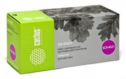 Лазерный картридж Cactus CS-S4521 (S4521) черный для принтеров Samsung SCX 4321, 4521, 4521F, 4521FG (3000 стр.) - фото 9343