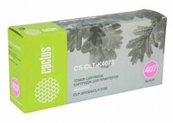 Лазерный картридж Cactus CS-CLT-K407S (CLT-K407S) черный для принтеров Samsung CLP 320, 320N, 325, CLX 3185, 3185N, 3185FN (1500 стр.) - фото 9358