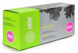 Лазерный картридж Cactus CS-CLT-Y406S (CLT-Y406S) желтый для принтеров Samsung CLP 360, 365, 365W, CLX 3300, 3305, 3305FW, 3305N, 3305W, Xpress C410W, C460W (1000 стр.) - фото 9404