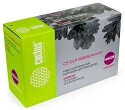 Лазерный картридж Cactus CS-CLP-M660B (CLP-M660B) пурпурный для принтеров Samsung CLP 610, 610ND, 660, 660N, 660ND, CLX 6200, 6200FX, 6200ND, 6210, 6210FX, 6240, 6240FX (5000 стр.) - фото 9425