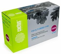 Лазерный картридж Cactus CS-CLT-C609S (CLT-C609S) голубой для принтеров Samsung CLP 770, 770ND, 775, 775ND (7000 стр.) - фото 9428
