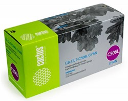 Лазерный картридж Cactus CS-CLT-C506L (CLT-C506L) голубой для принтеров Samsung CLP 680, 680ND, CLX 6260, 6260FD, 6260FR, CLX 6260, 6260FD, 6260FR (3500 стр.) - фото 9432