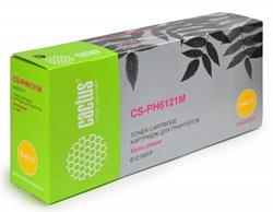 Лазерный картридж Cactus CS-PH6121M (106R01474) пурпурный для принтеров Xerox Phaser 6121, 6121mfp, 6121MFP D, 6121MFP N (2600 стр.) - фото 9504