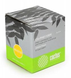 Лазерный картридж Cactus CS-PH6110BK (106R01203) черный для принтеров Xerox Phaser 6110, 6110b, 6110mfp, 6110n, 6110mfp b, 6110mfp s, 6110mfp x, 6110vb, 6110vn (2000 стр.) - фото 9530