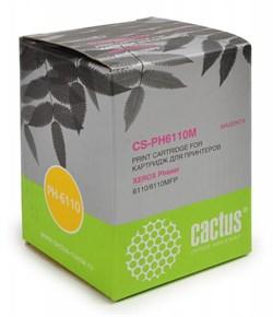Лазерный картридж Cactus CS-PH6110M (106R01205 ) пурпурный для принтеров Xerox Phaser 6110, 6110b, 6110mfp, 6110n, 6110mfp b, 6110mfp s, 6110mfp x, 6110vb, 6110vn  (1000 стр.) - фото 9533