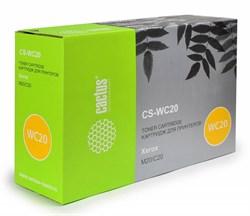 Лазерный картридж Cactus CS-WC20 (106R01048) черный для принтеров Xerox Copycentre C20, WorkCentre m20, m20i (8000 стр.) - фото 9593